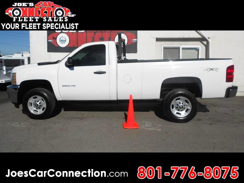 """2011 Chevrolet Silverado 2500HD 4WD Reg Cab 133.7"""" Work Truck"""