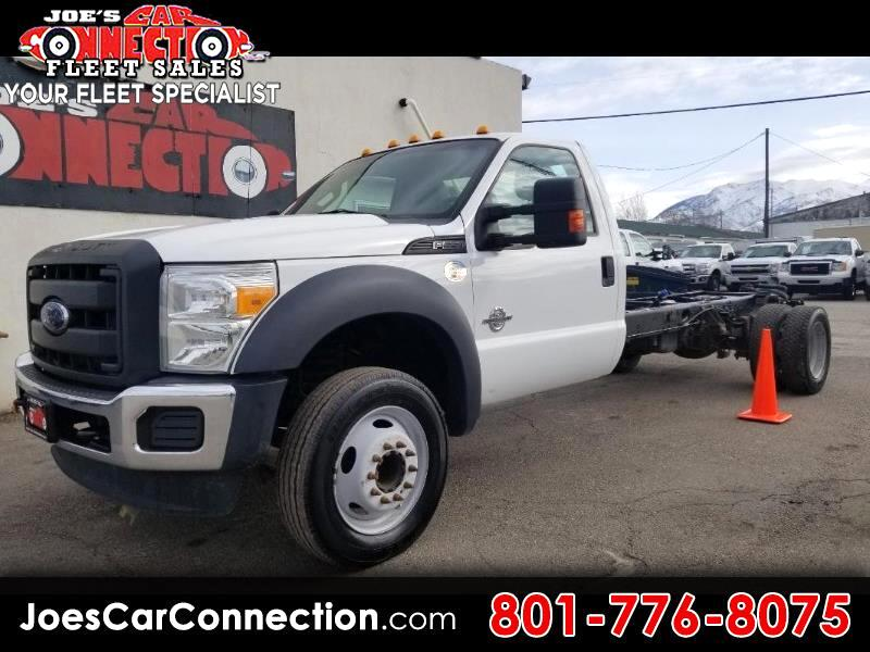 2013 Ford Super Duty F-550 DRW 2WD Reg Cab 201