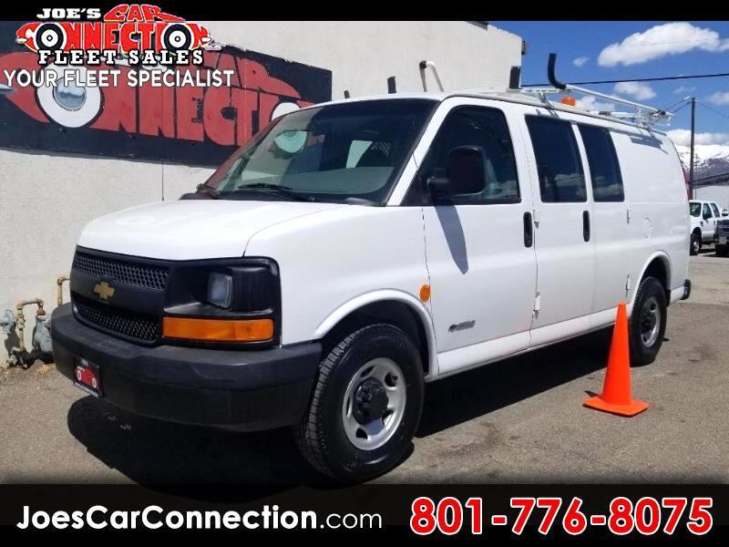 "Chevrolet Express Cargo Van 2500 135"" WB RWD 2005"