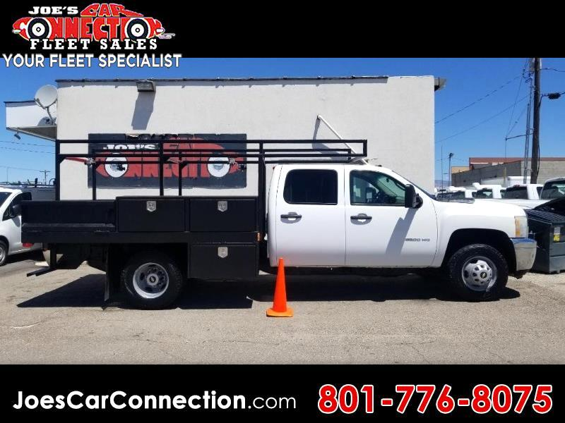 "Chevrolet Silverado 3500HD 2WD Crew Cab 171.5"" WB, 59.4"" CA WT 2011"