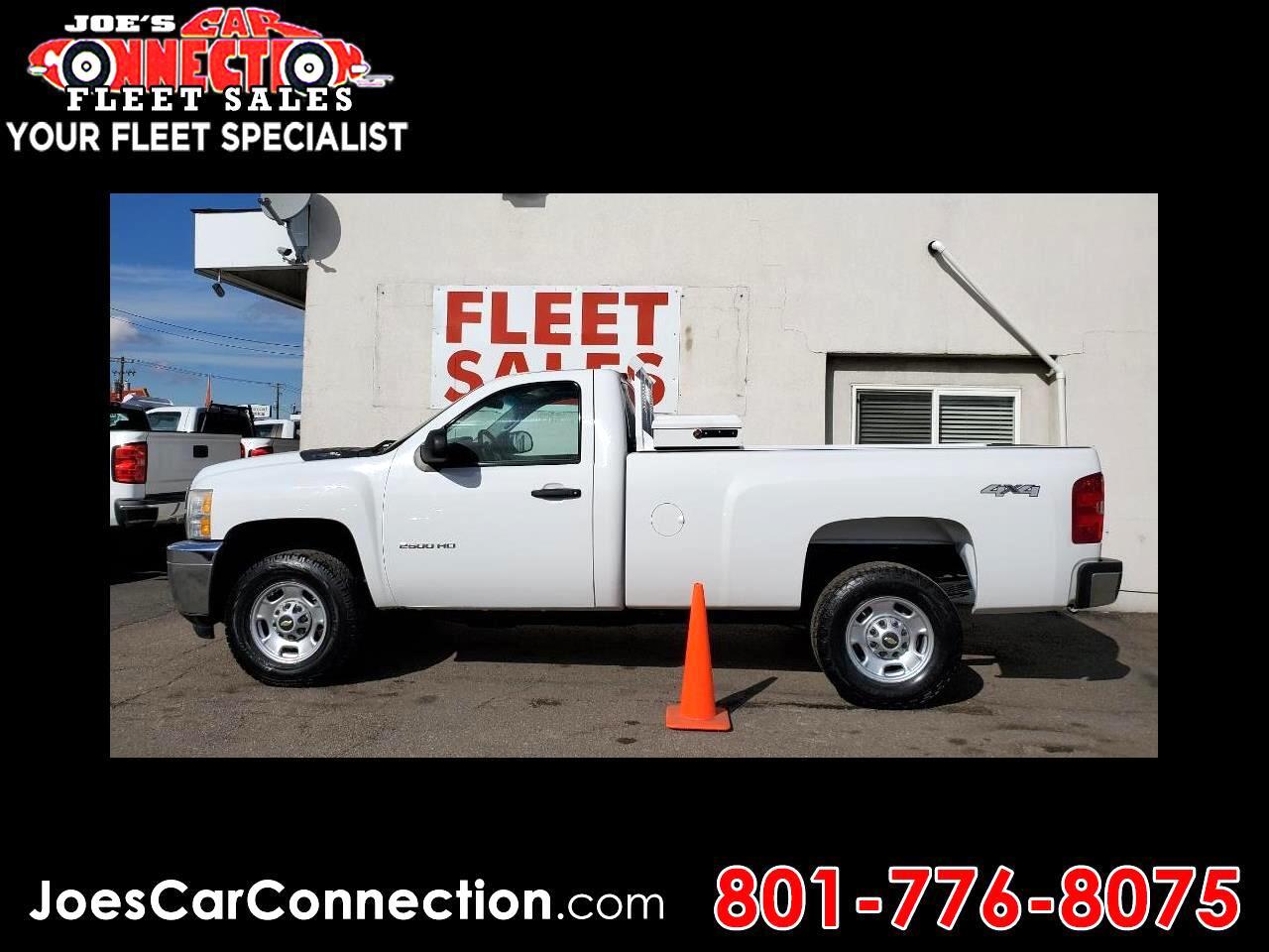 """Chevrolet Silverado 2500HD 4WD Reg Cab 133.7"""" Work Truck 2011"""