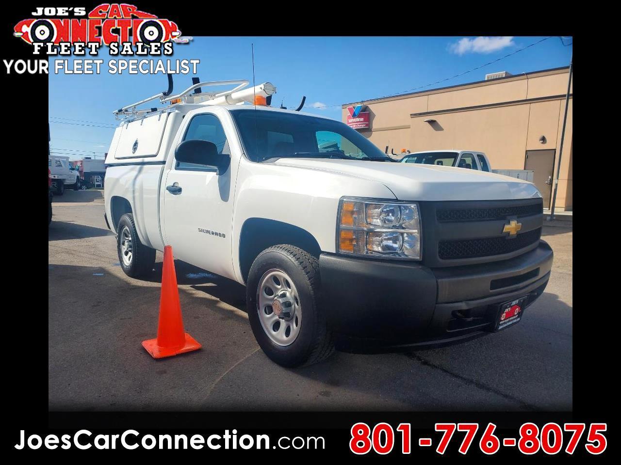 """Chevrolet Silverado 1500 4WD Reg Cab 119.0"""" Work Truck 2011"""