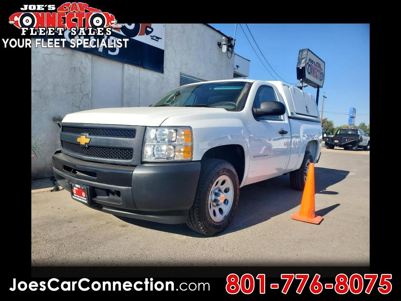 """Chevrolet Silverado 1500 2WD Reg Cab 119.0"""" Work Truck 2012"""