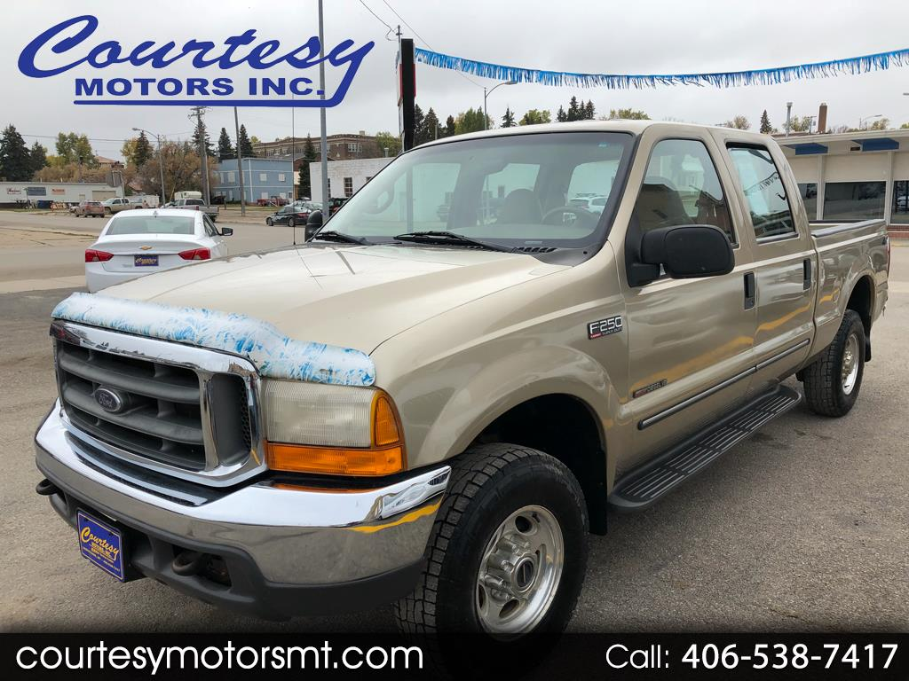 Ford F-250 SD XL Crew Cab Short Bed 4WD 2000