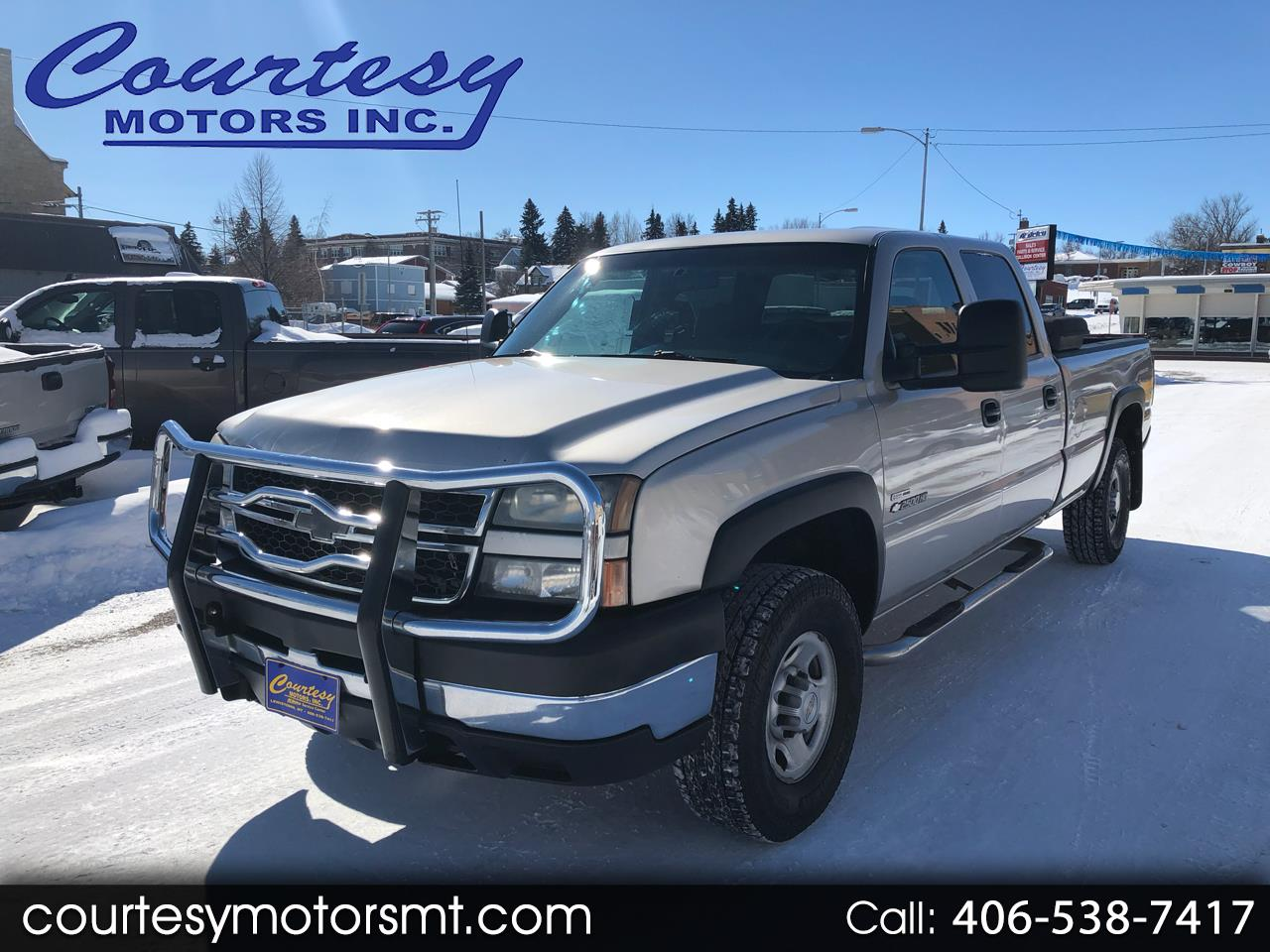 2007 Chevrolet Silverado Classic 2500HD Work Truck Crew Cab Long Box 4WD
