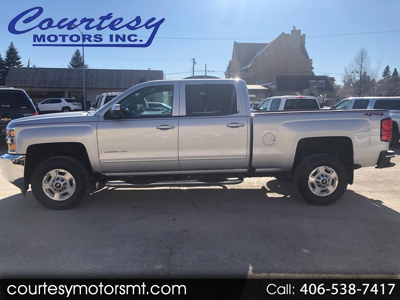 Chevrolet Silverado 2500HD LT Crew Cab Long Box 4WD 2018