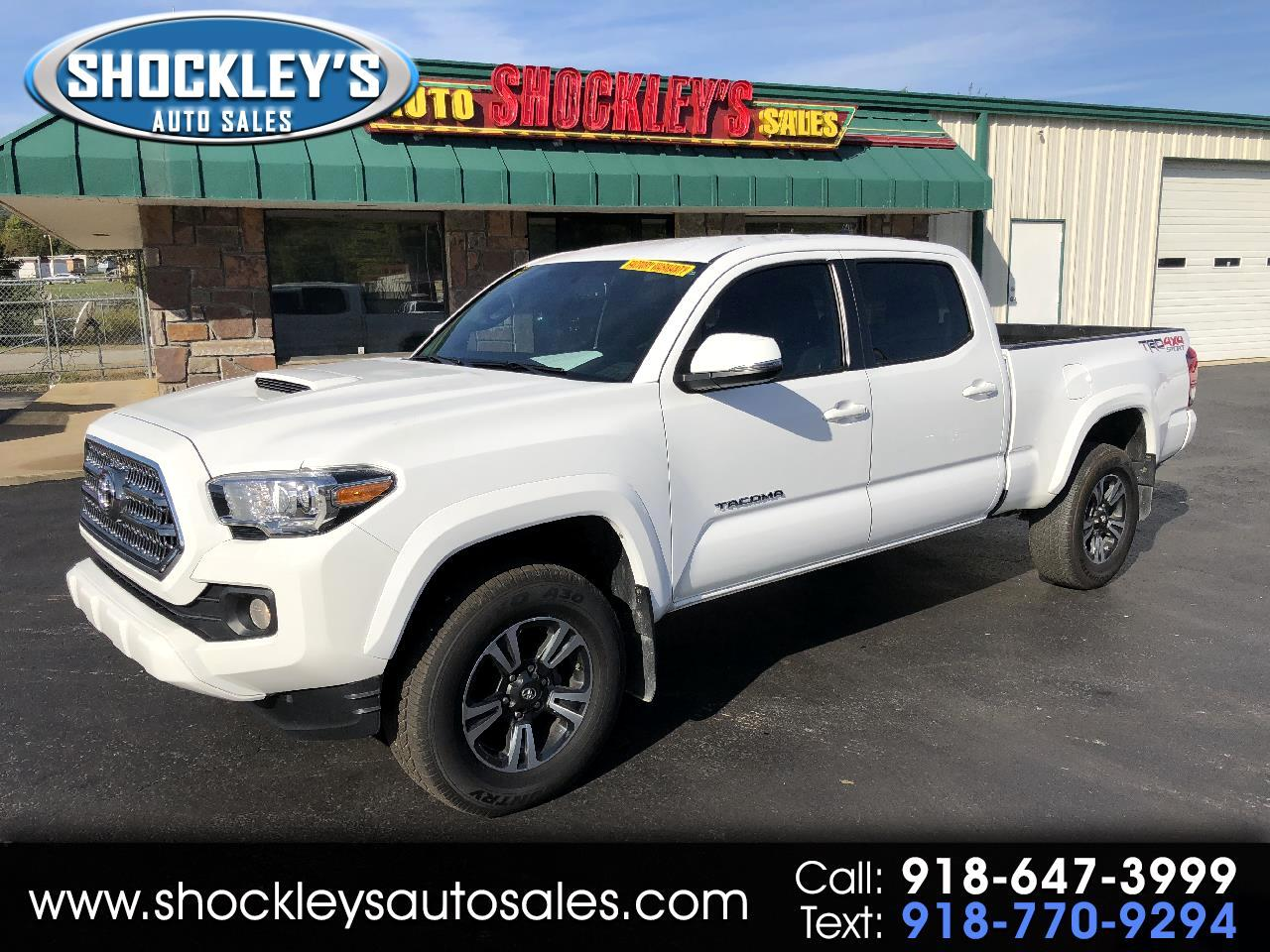2017 Toyota Tacoma TRD Sport Double Cab 6' Bed V6 4x4 AT (Natl)