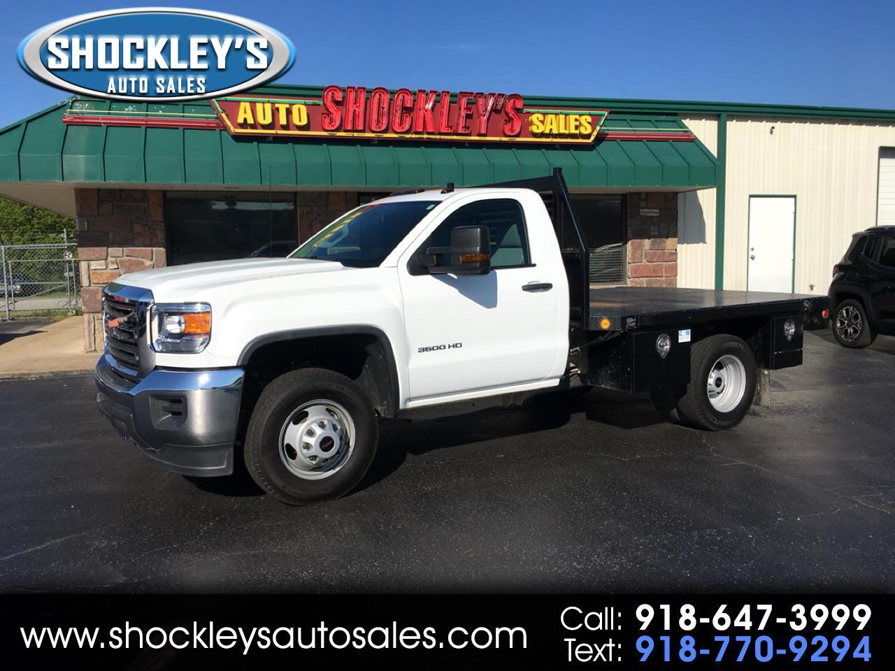 "2015 GMC Sierra 3500HD available WiFi 4WD Reg Cab 137.5"" WB, 59.06"" CA"
