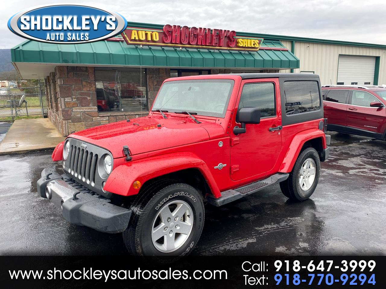 Jeep Wrangler 4WD 2dr Freedom Edition *Ltd Avail* 2014
