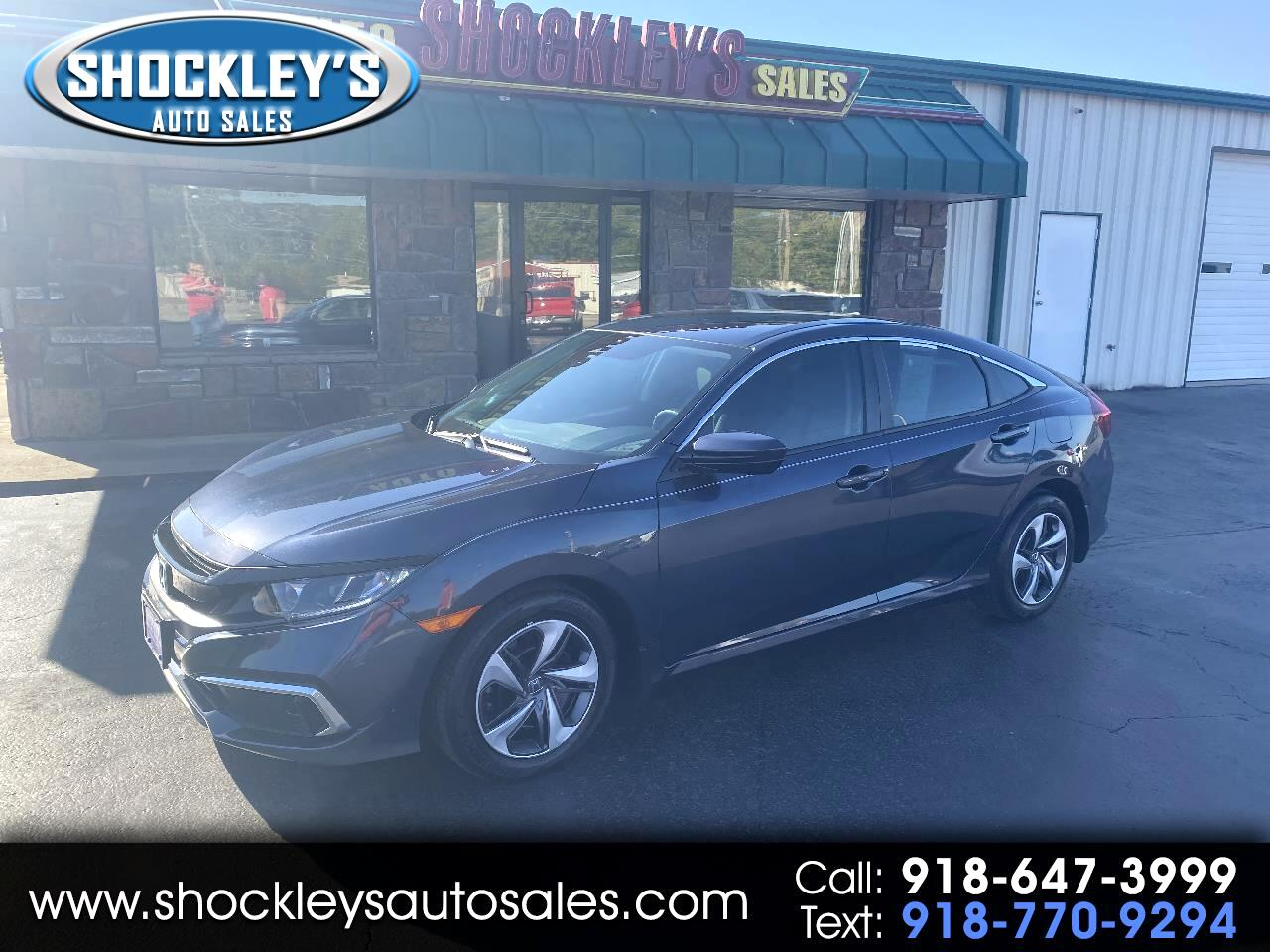 Honda Civic Sedan LX CVT 2020