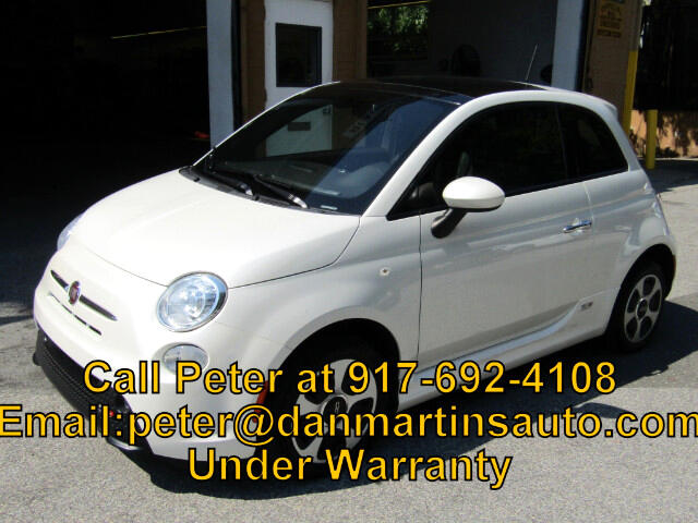 2015 Fiat 500e Battery Electric Hatchback