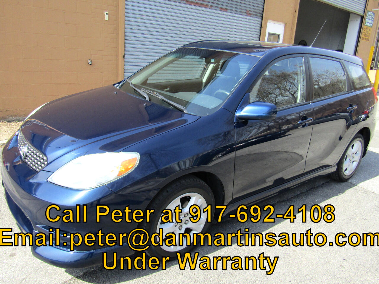 2004 Toyota Matrix 5dr Wgn Man XR (Natl)