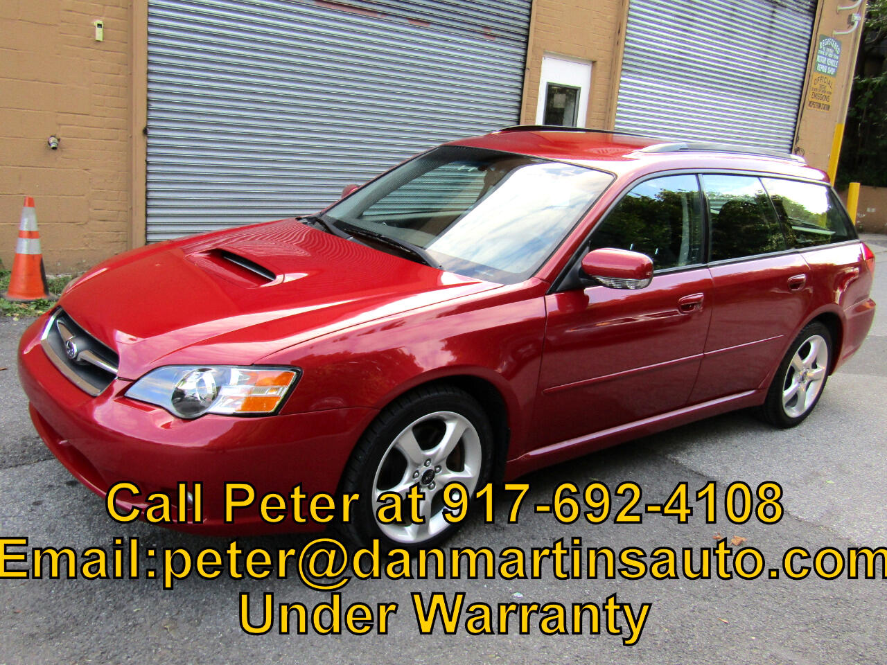 2005 Subaru Legacy Wagon (Natl) 2.5 GT Manual