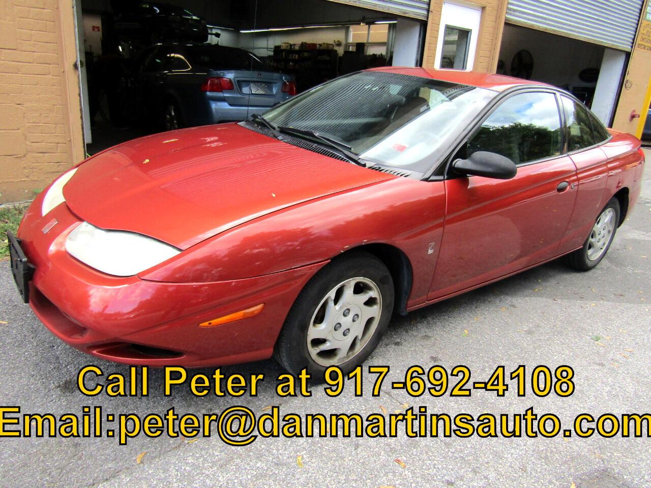 2002 Saturn SC 3dr SC1 Auto