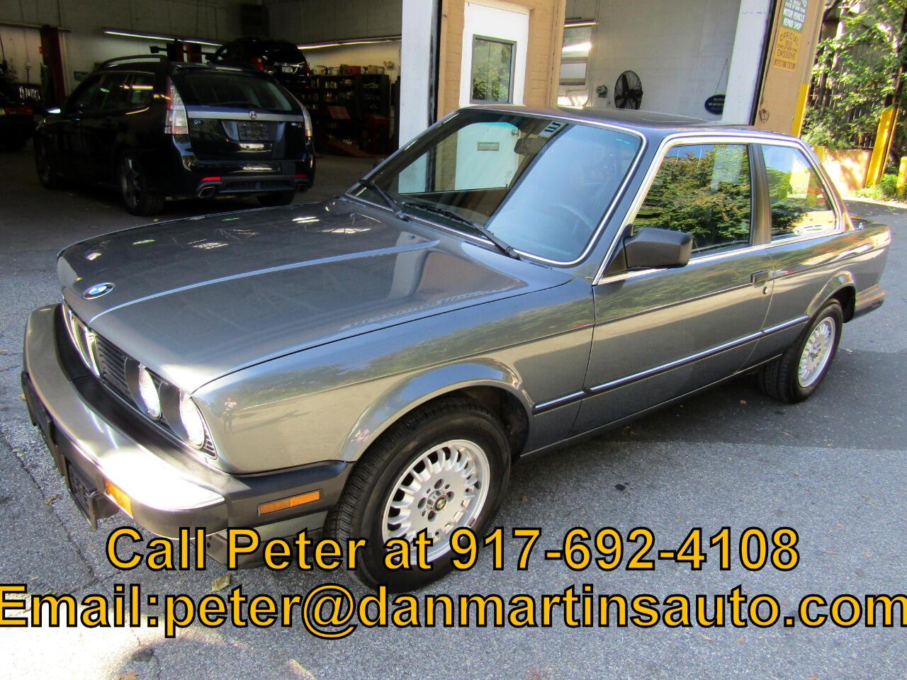 1987 BMW 3 Series 2dr Sedan 325