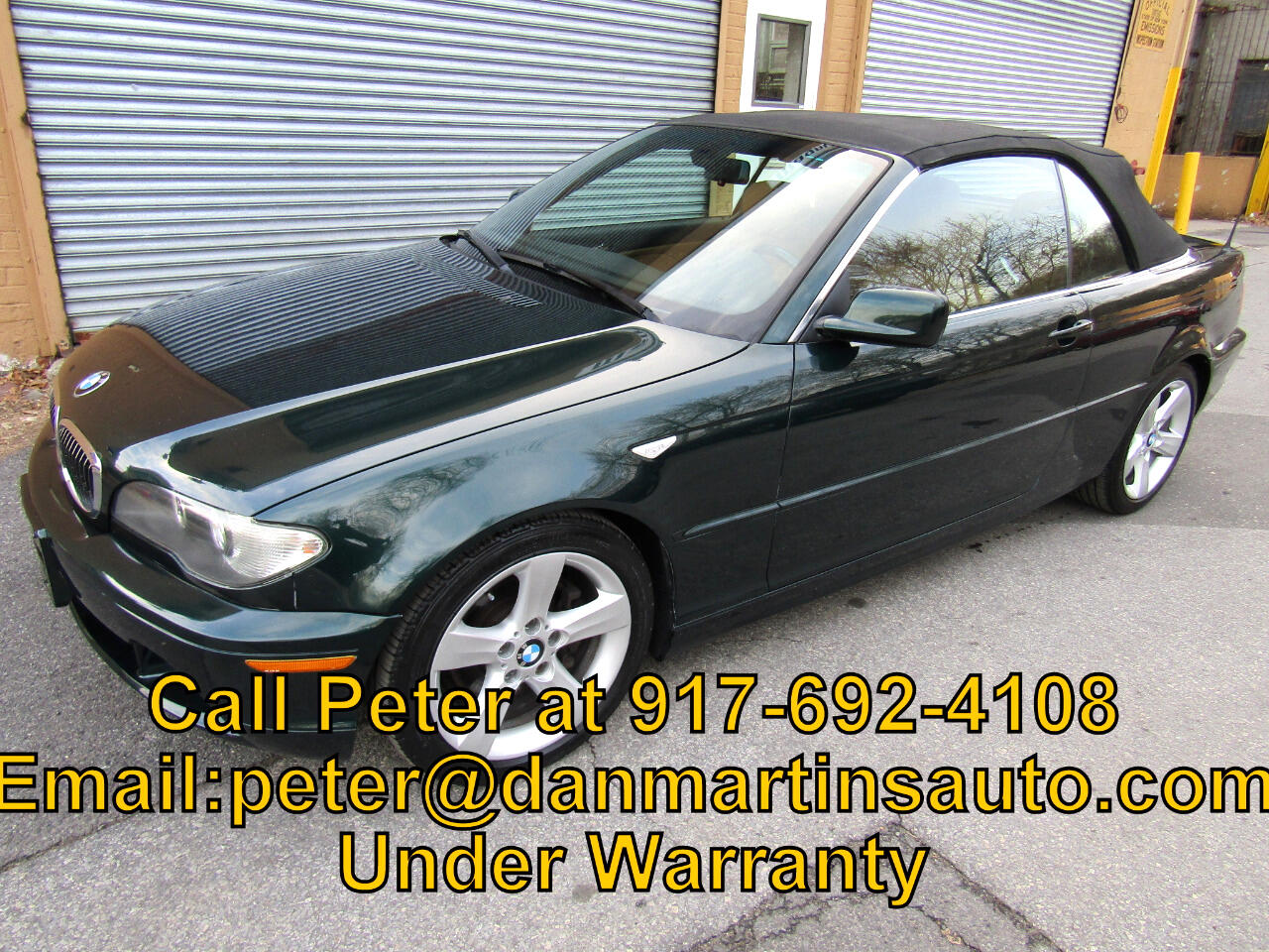 2005 BMW 3 Series 325Ci 2dr Convertible