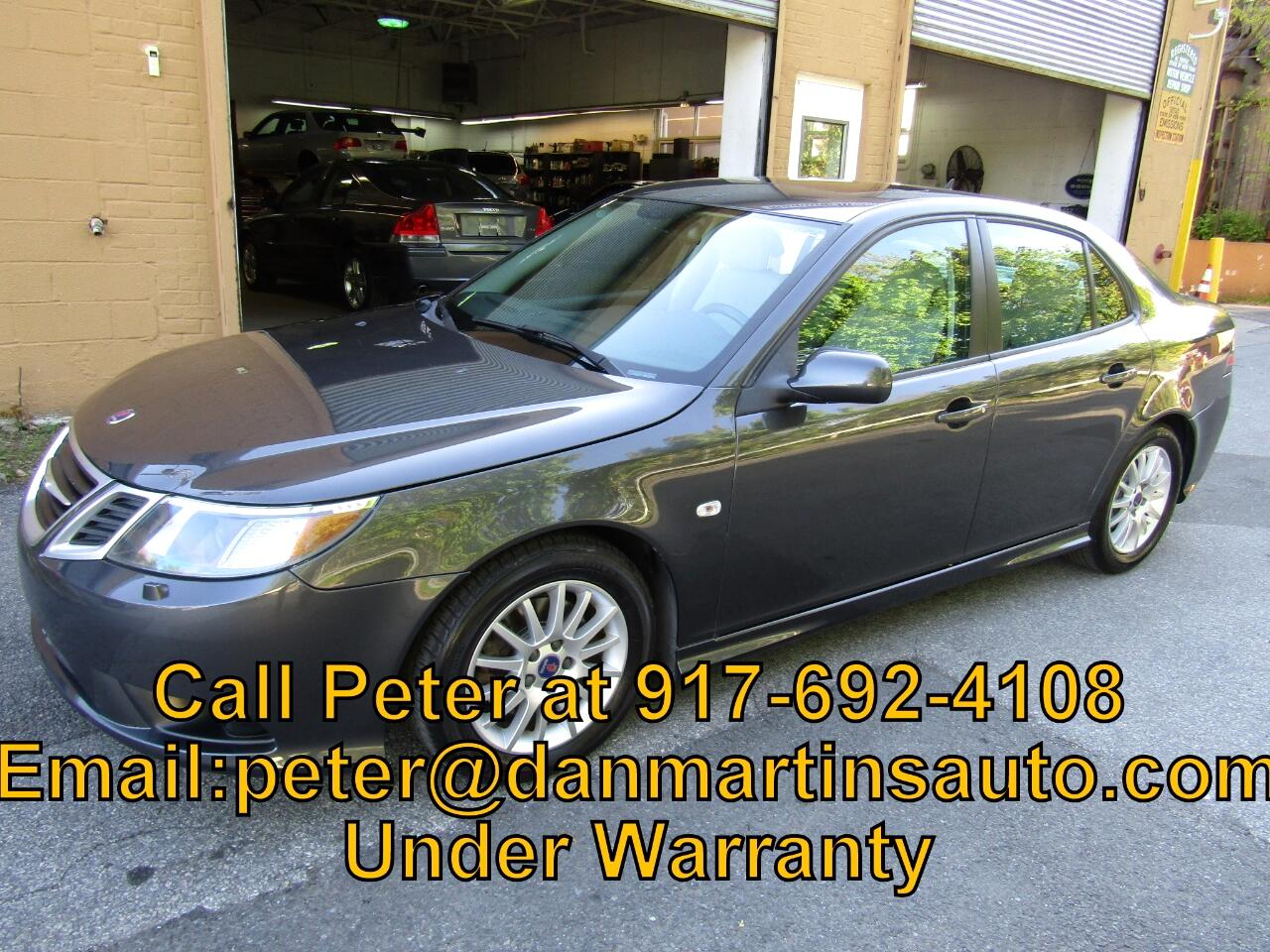 Saab 9-3 4dr Sdn Manual FWD 2011