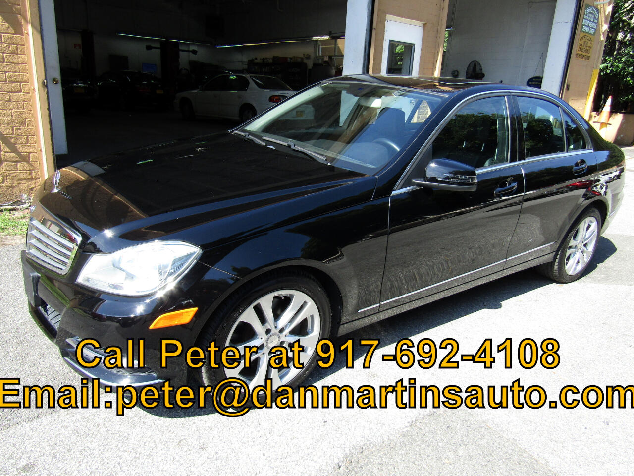 Mercedes-Benz C-Class 4dr Sdn C300 Luxury 4MATIC 2013