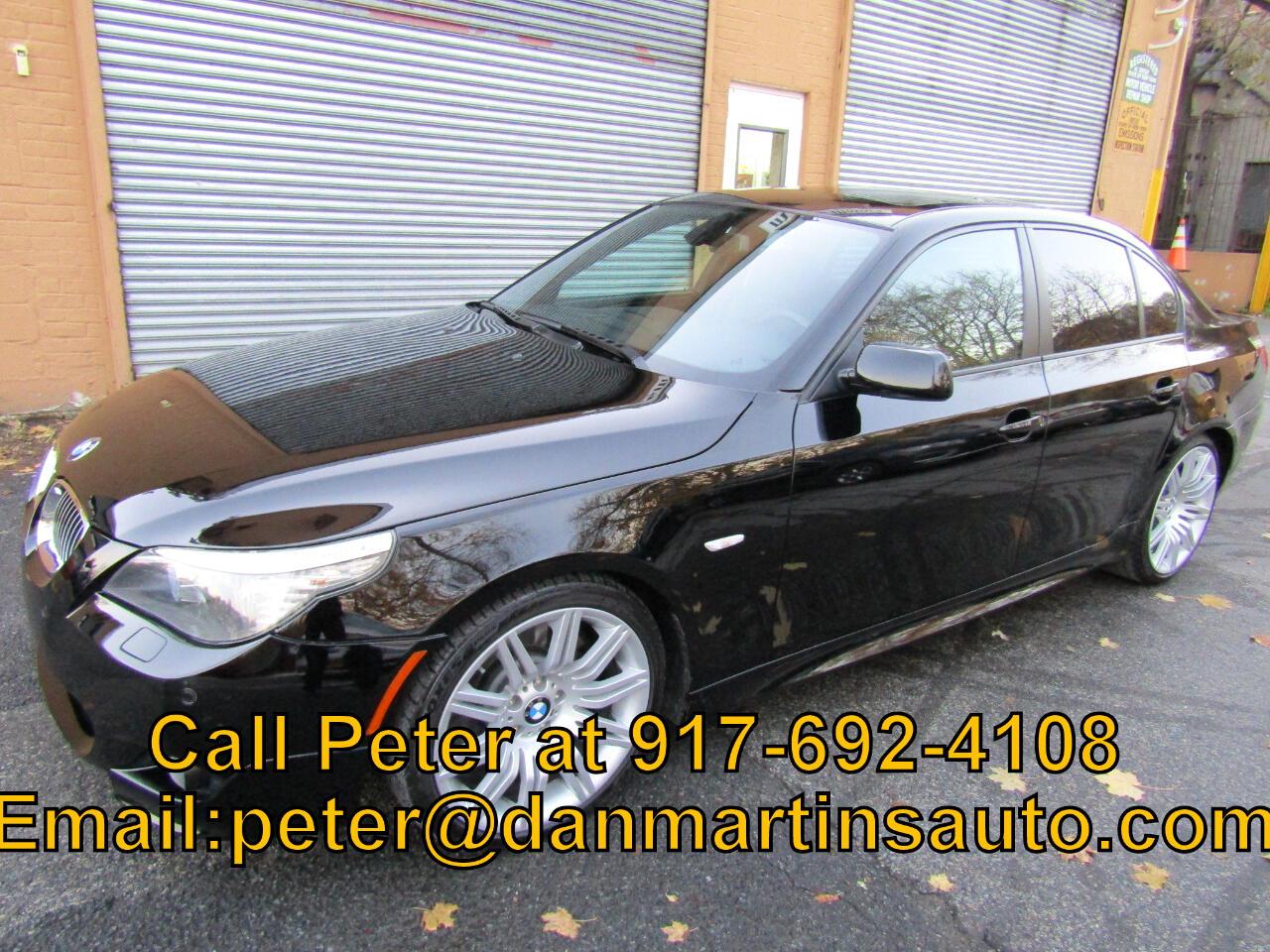 BMW 5 Series 4dr Sdn 550i RWD 2010