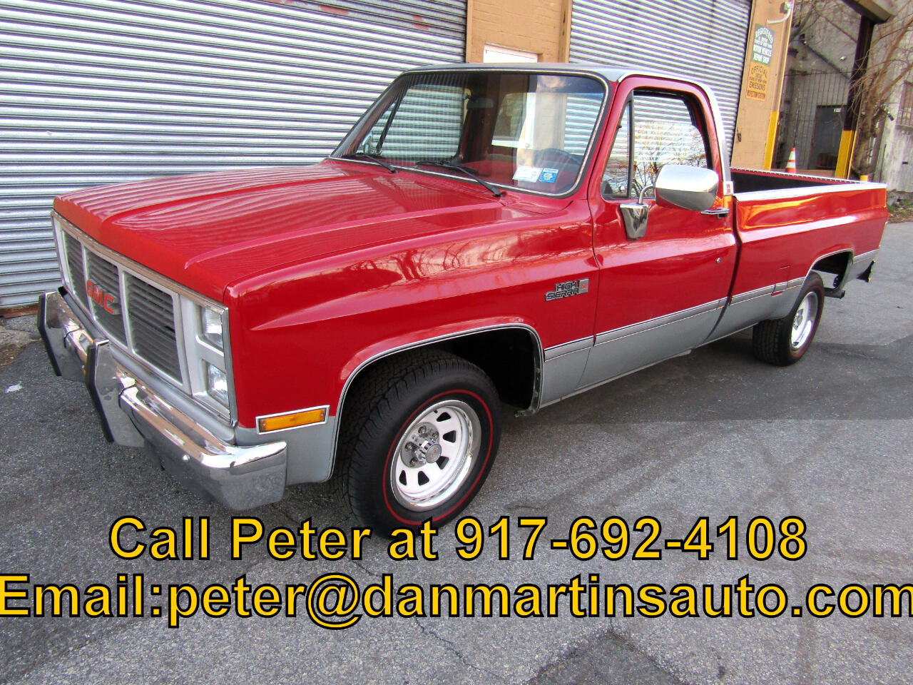 GMC Pickup C1500 Wideside 1985