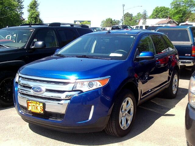 used 2014 ford edge sel awd for sale in zanesville oh 43701 finks quality used cars. Black Bedroom Furniture Sets. Home Design Ideas