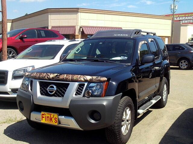 used 2014 nissan xterra s 5at 4wd for sale in zanesville oh 43701 finks quality used cars. Black Bedroom Furniture Sets. Home Design Ideas