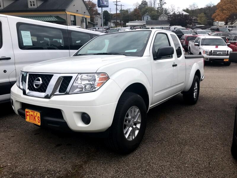 2016 Nissan Frontier King Cab 4x4 SV V6 Auto