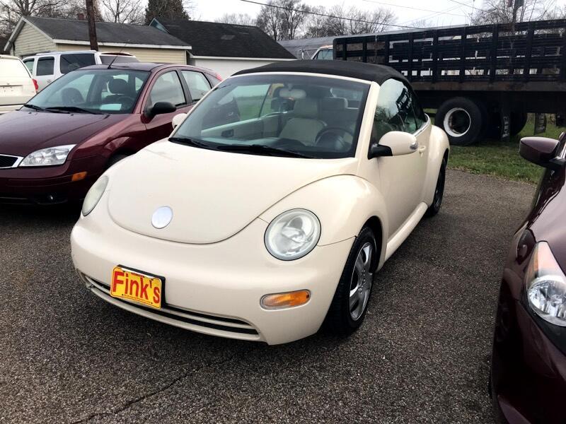 2005 Volkswagen New Beetle GL 2.0L Convertible