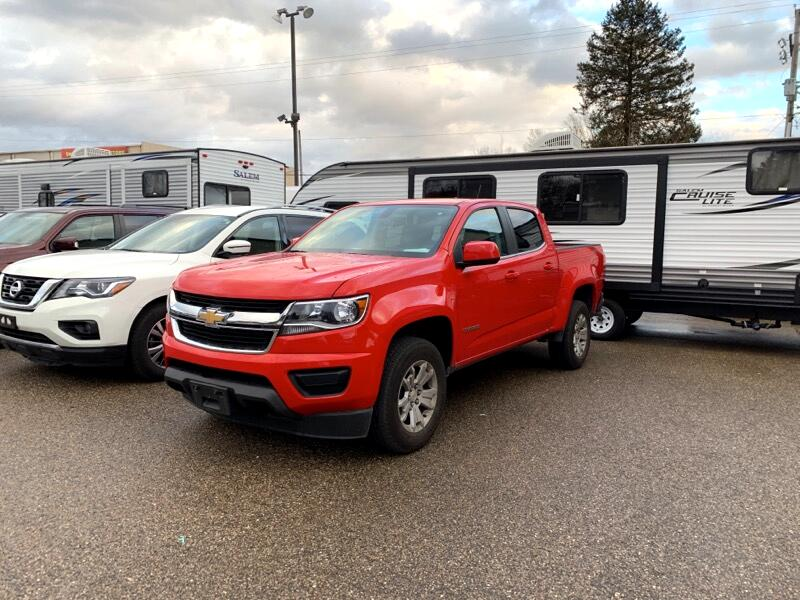 2018 Chevrolet Colorado LT Crew Cab 4WD Short Box