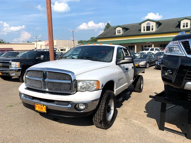 2003 Dodge Ram 3500 SLT QUAD CAB FLAT BED 4WD