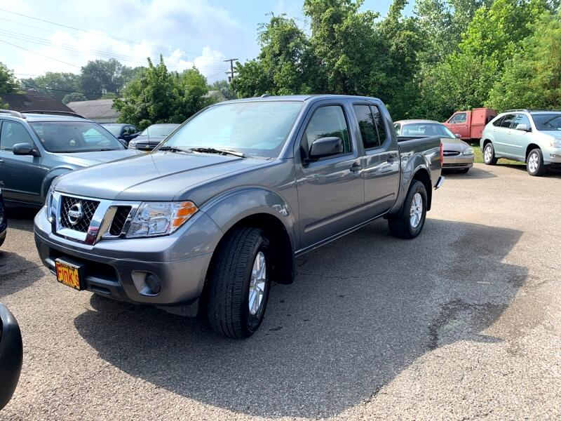 2018 Nissan Frontier S/V Crew Cab 5AT 4WD