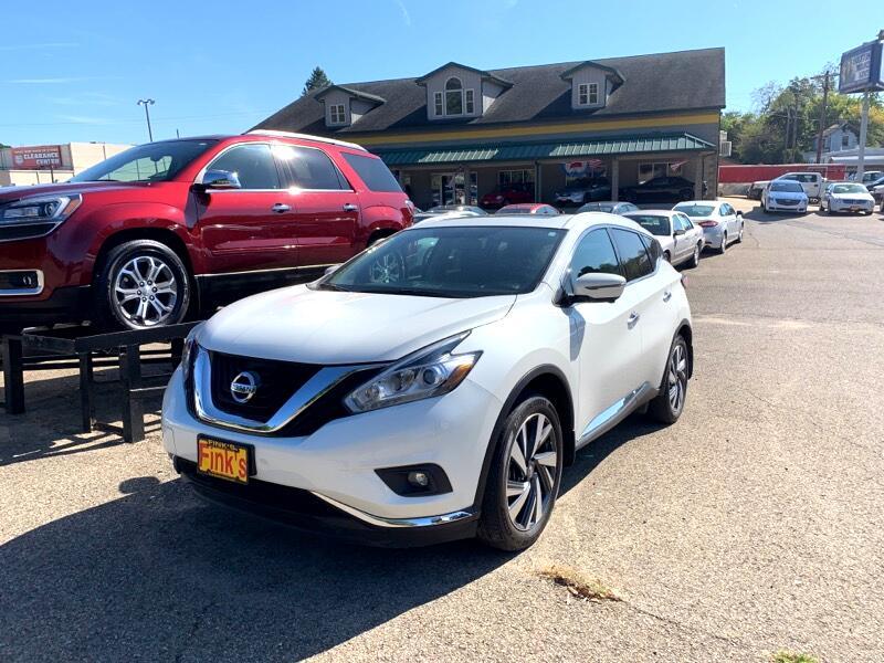Nissan Murano Platinum AWD 2017