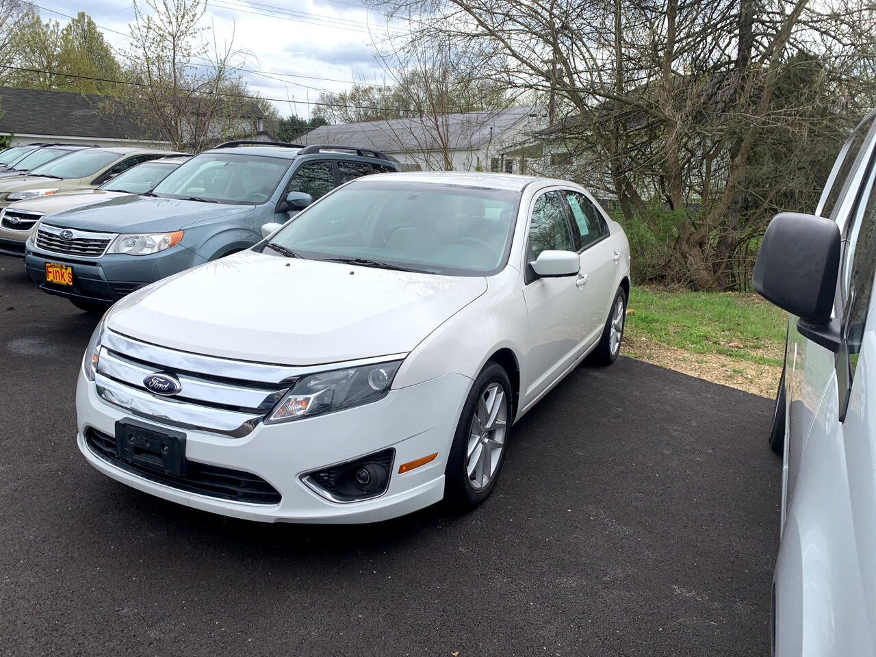 Ford Fusion 4dr Sdn SEL FWD 2012