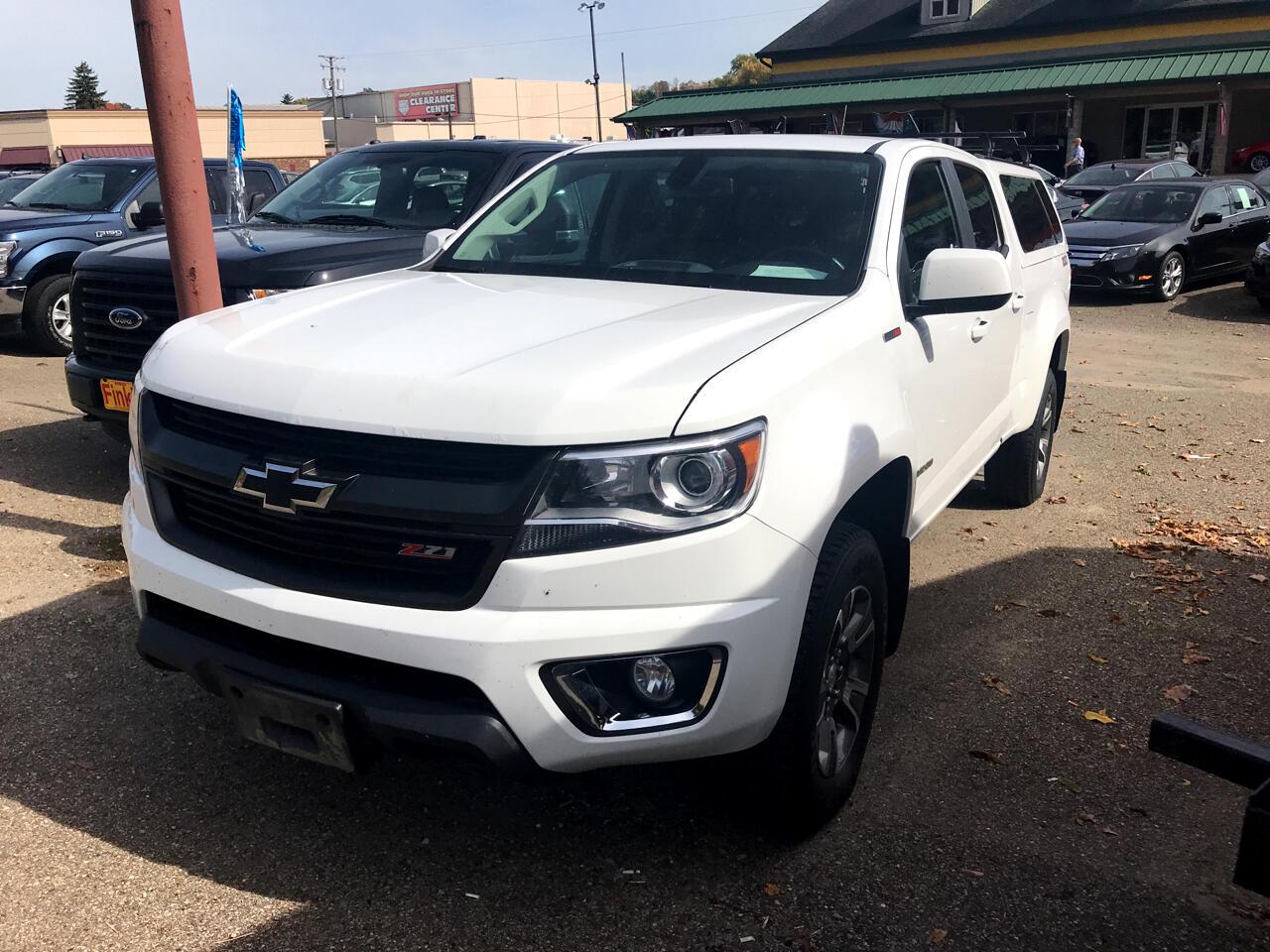 """Chevrolet Colorado 4WD Crew Cab 140.5"""" Z71 2016"""