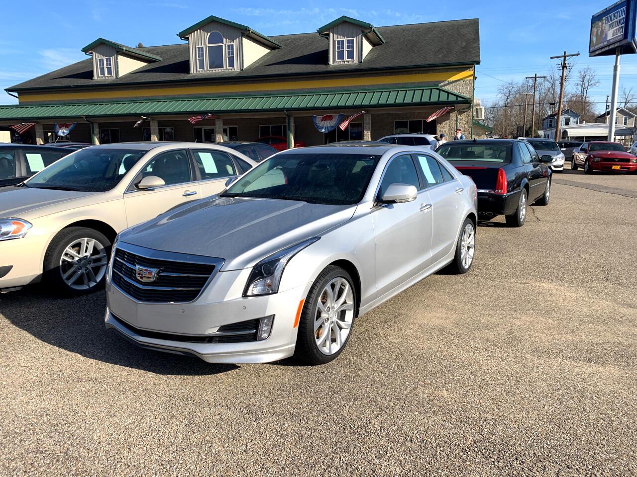 Cadillac ATS Sedan 4dr Sdn 3.6L Premium Luxury AWD 2018
