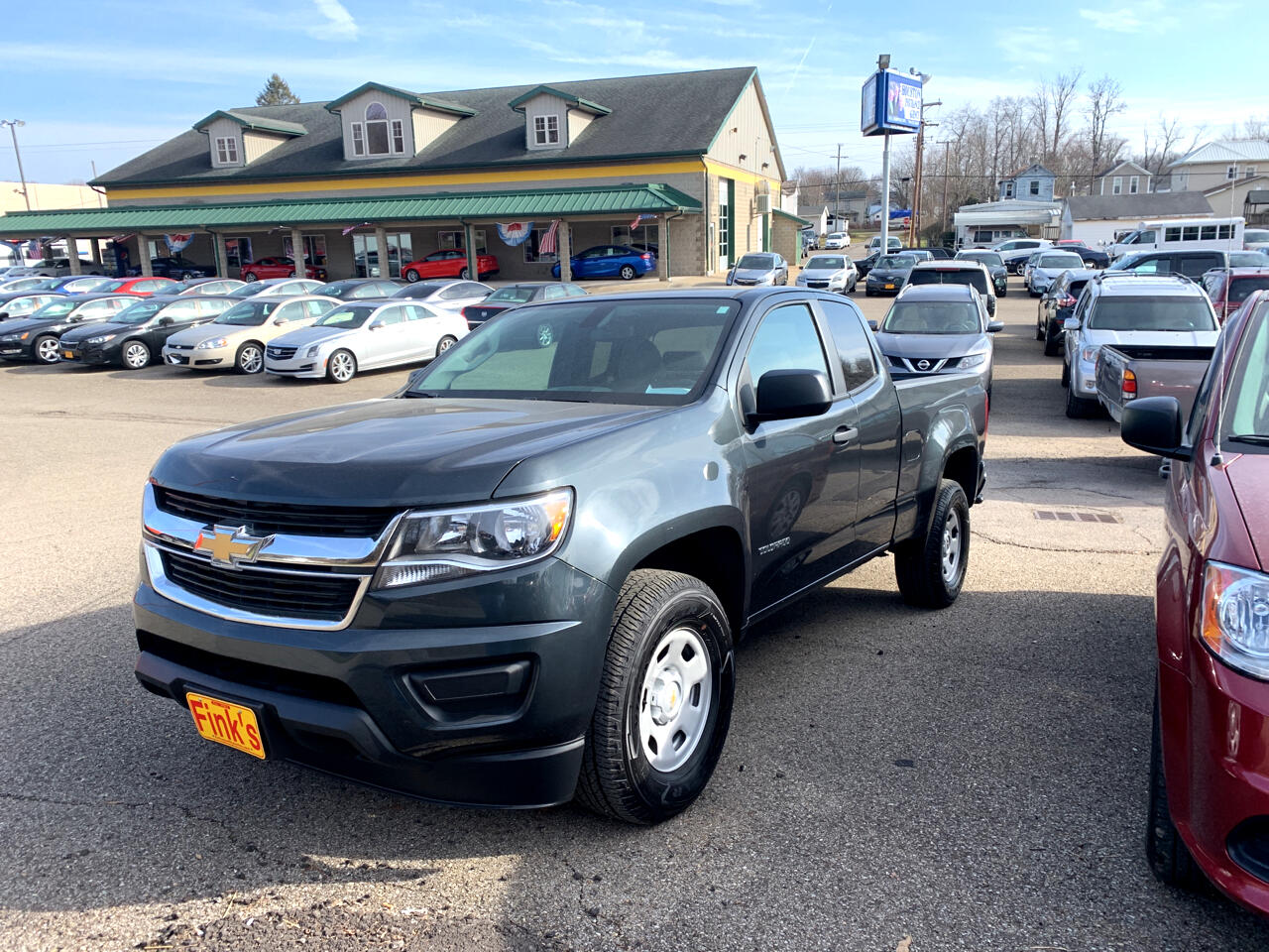 "Chevrolet Colorado 2WD Ext Cab 128.3"" Work Truck 2018"