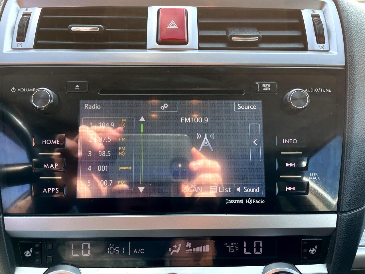 Subaru Legacy 4dr Sdn 2.5i Premium 2015