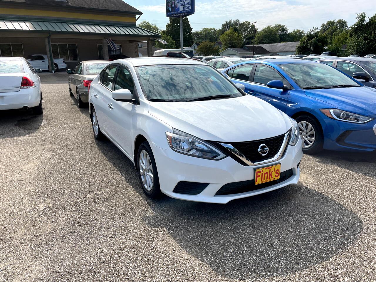 Nissan Sentra SV CVT 2018