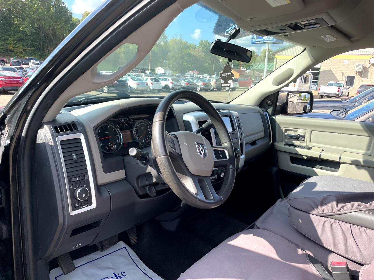 "Dodge Ram 1500 4WD Crew Cab 140.5"" TRX 2010"