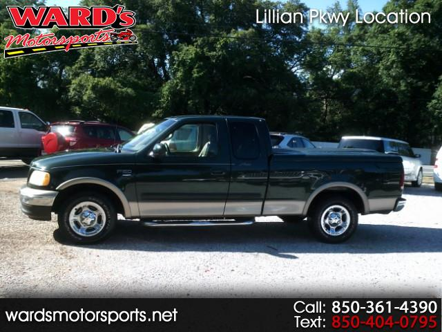 2002 Ford F-150 Lariat SuperCab Short Bed 2WD