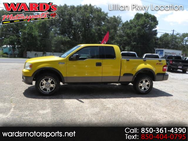 2004 Ford F-150 4WD Supercab Flareside 145