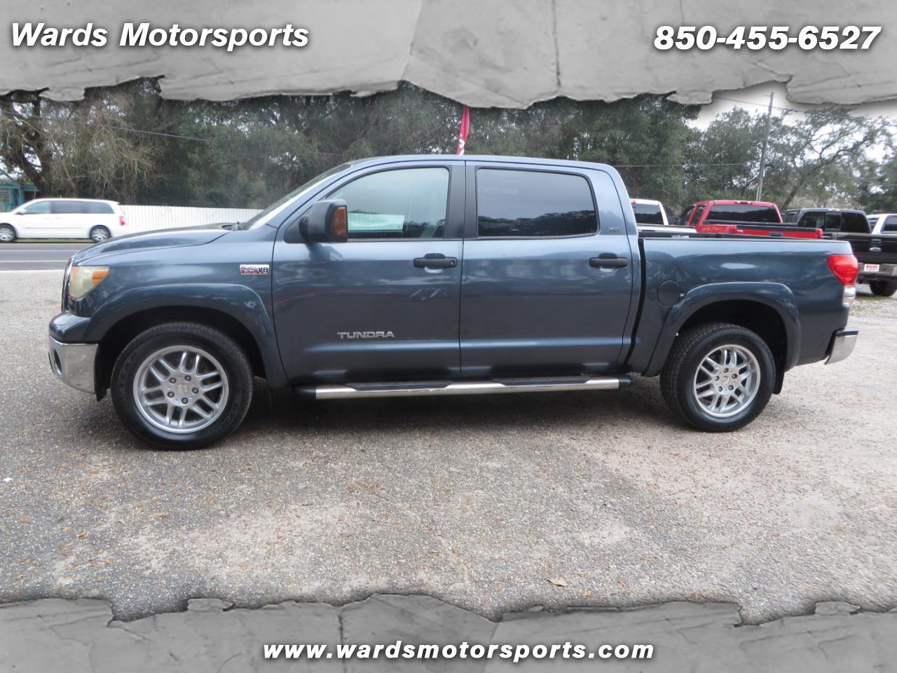 2008 Toyota Tundra 2WD Truck CrewMax 5.7L V8 6-Spd AT  (Natl)