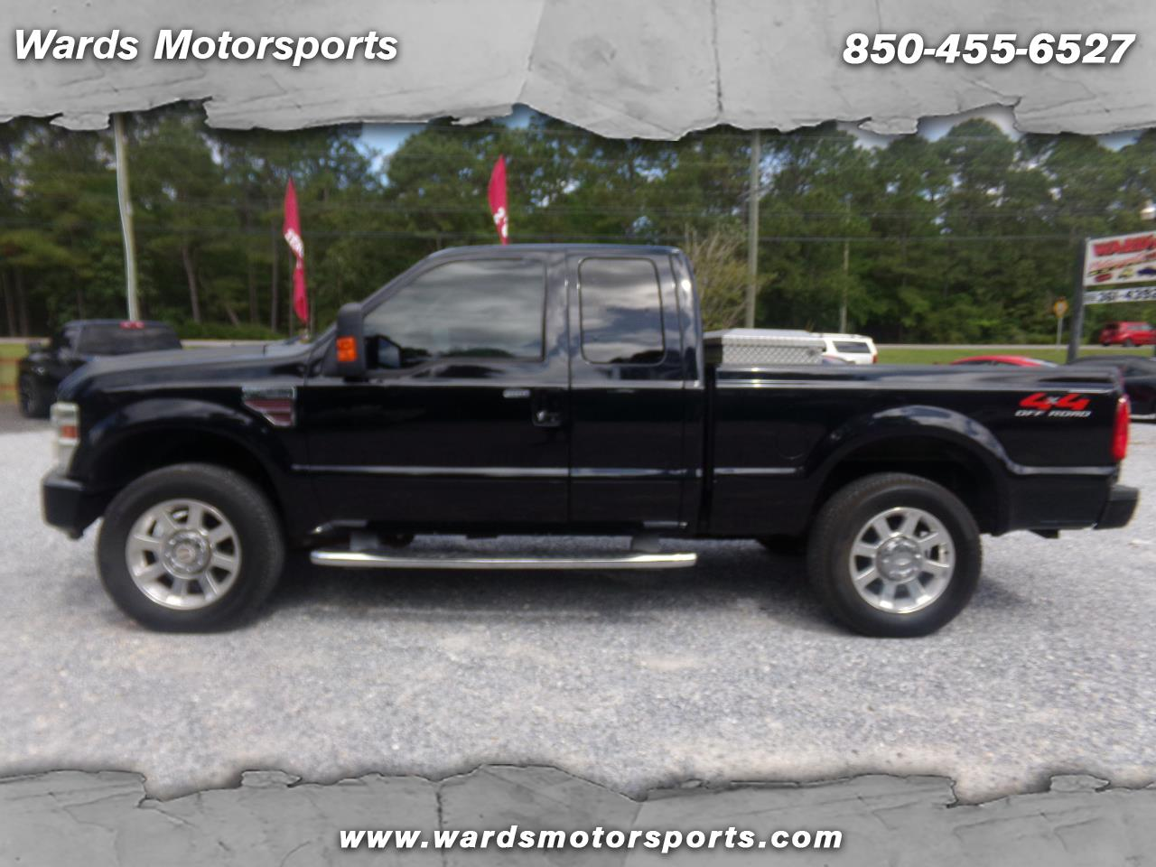 2008 Ford Super Duty F-250 SRW 4WD SuperCab 142