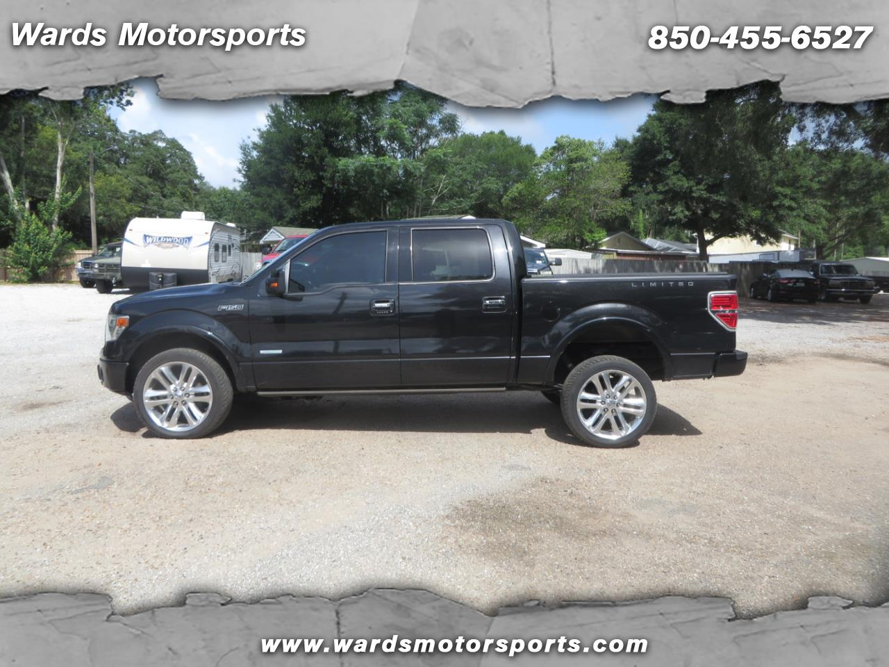 "Ford F-150 4WD SuperCrew 145"" Limited 2013"