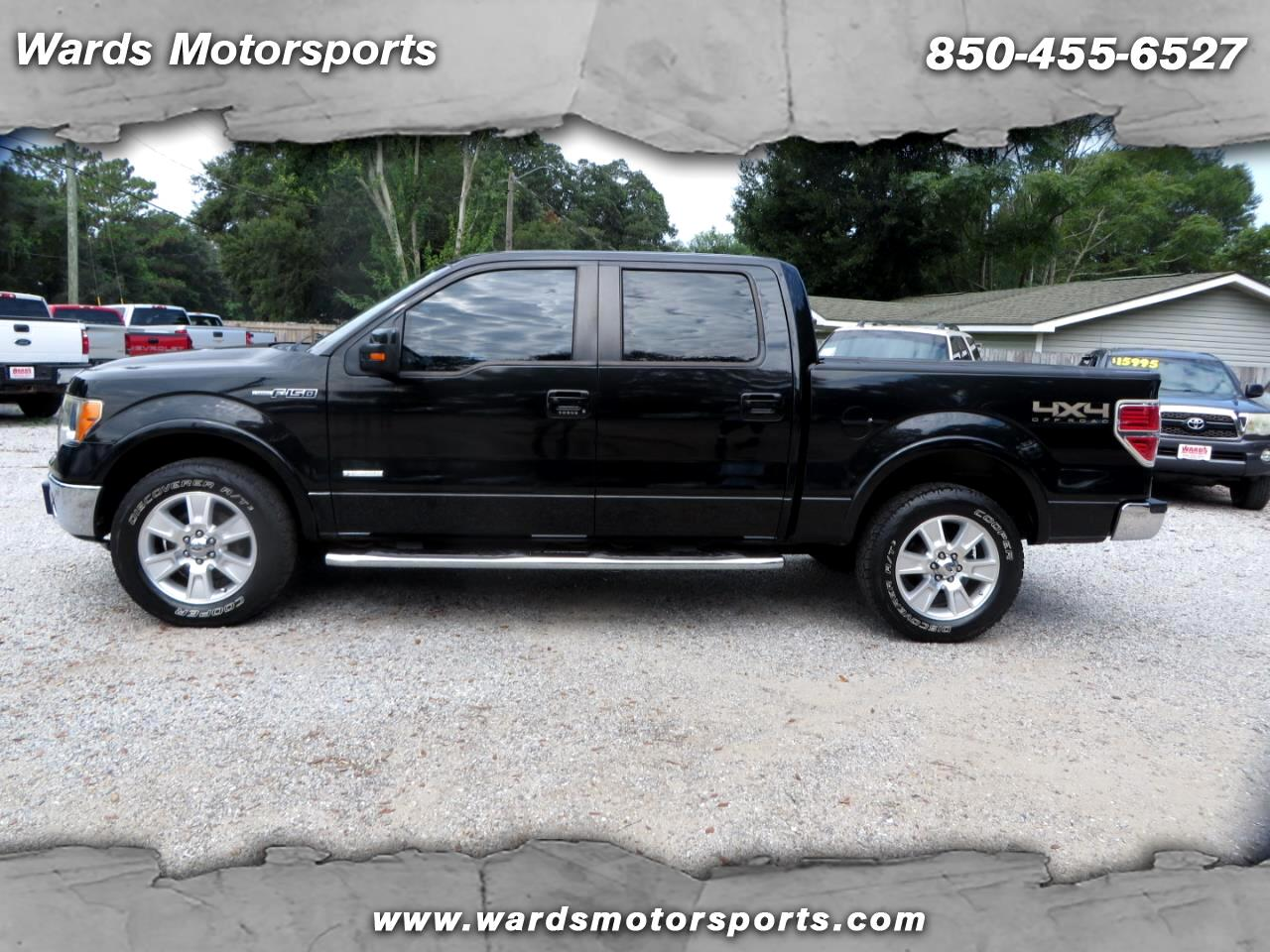 2011 Ford F-150 Lariat 4WD SuperCrew 6.5' Box