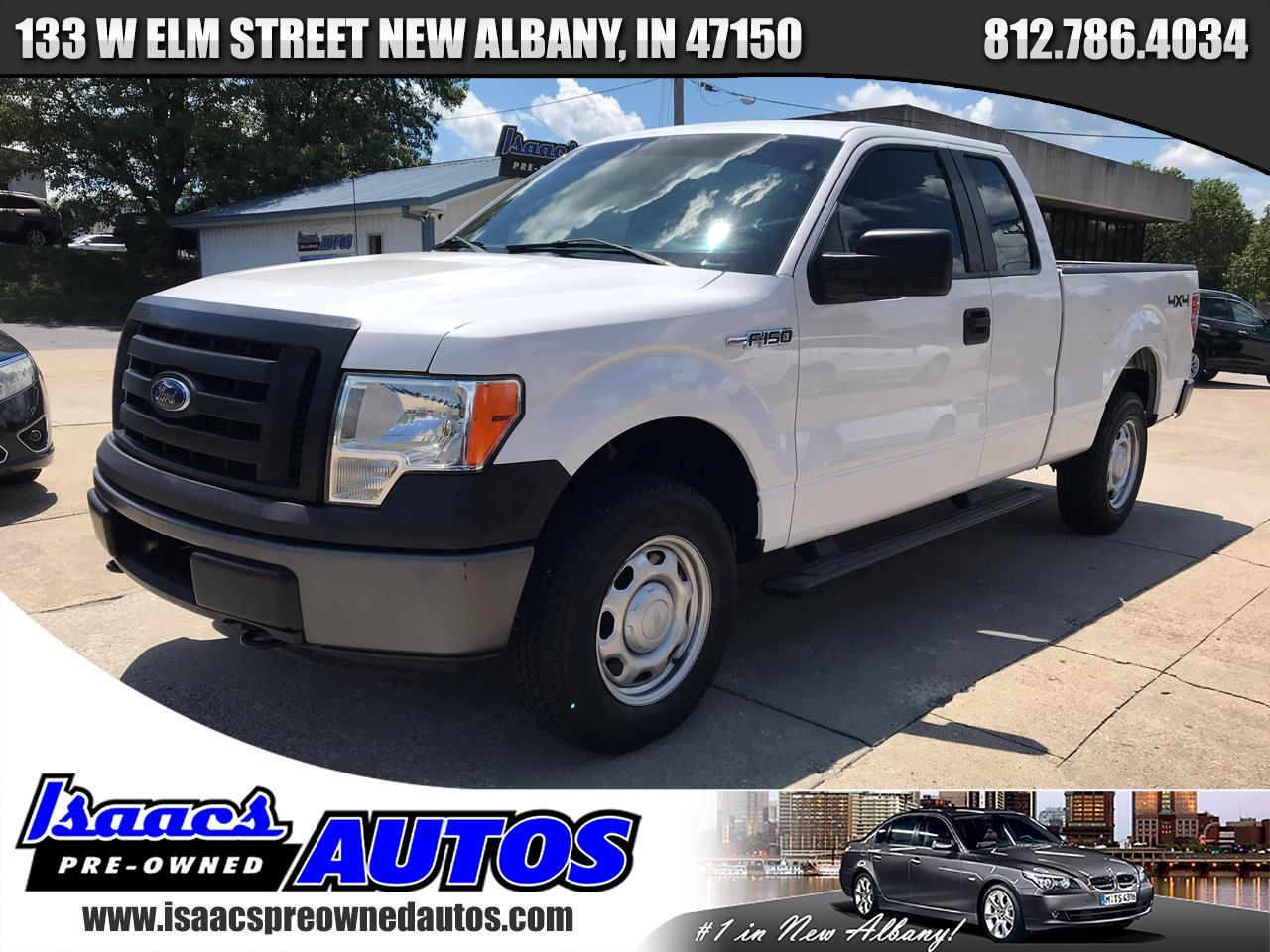 "Ford F-150 4WD SuperCab 145"" XL 2012"