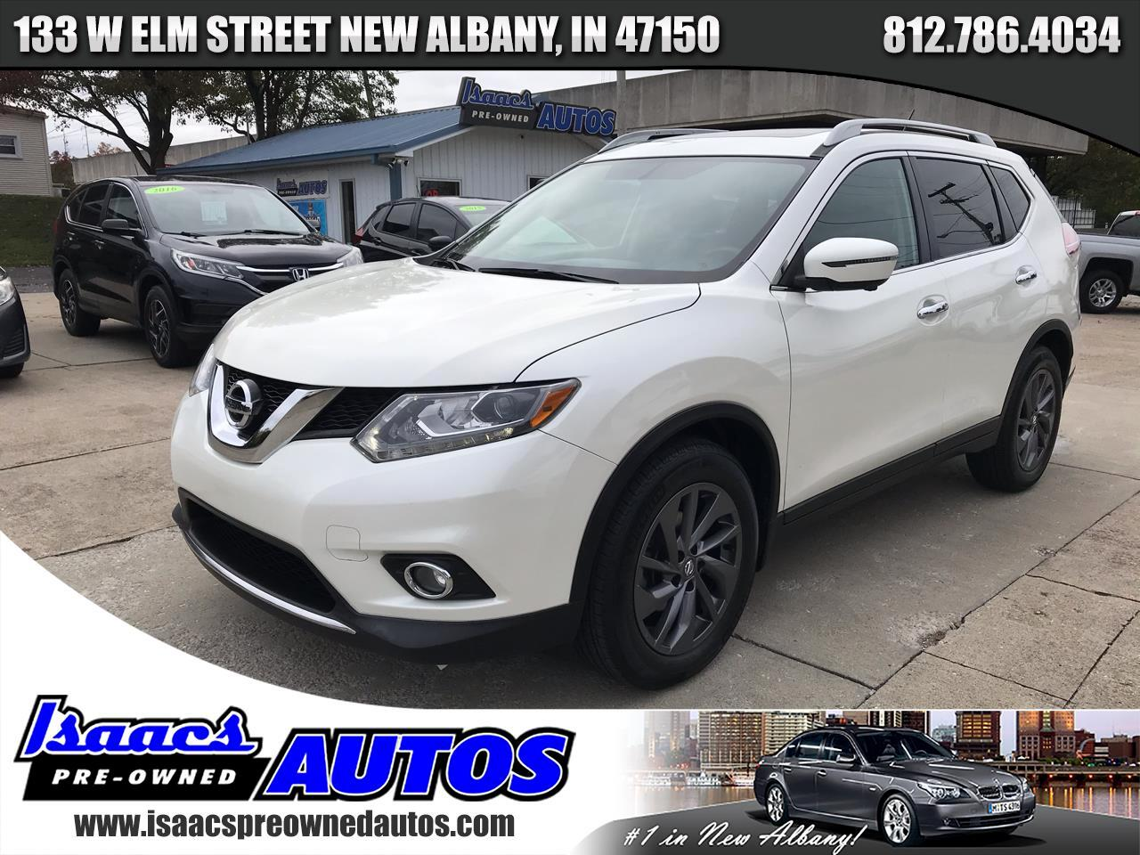 Nissan Rogue FWD 4dr SL 2016