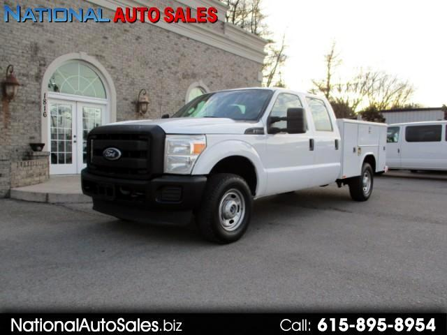 2011 Ford F-250 SD XL Crew Cab Long Bed 4WD Utility