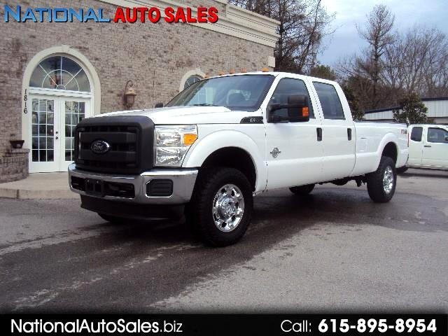 2012 Ford F-350 SD XL Crew Cab 4WD POWERSTROKE