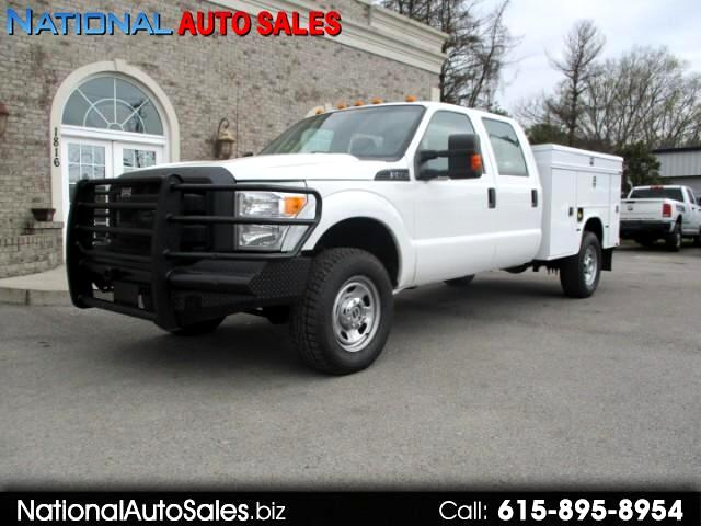 2012 Ford F-350 SD XL Crew Cab Long Bed 4WD Utility